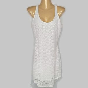 Athleta Dulcetta Dress/Cover Up in White